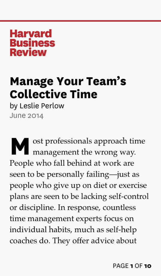 Manage Your Team's Collective Time